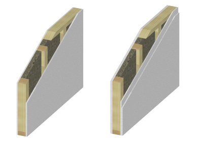 Pareti interne a telaio - Vandoies Pusteria case prefabbricate legno
