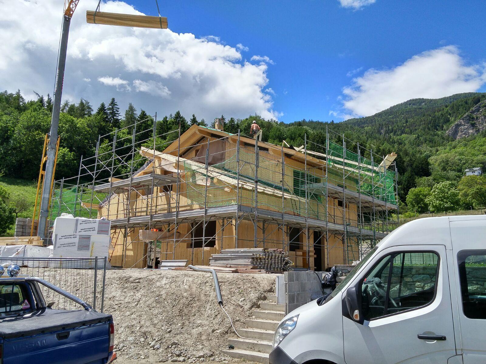 CANTIERE di Gignod (Aosta)